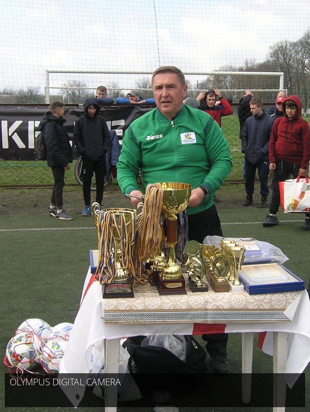 Дебютанти Мур-Транс та Фортуна, переможці чемпіонату та першості з міні-футболу Радомишльської ОТГ.